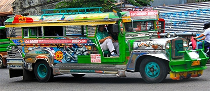 (feature) Chasing Places: How to Pay for a Jeepney Ride in the Philippines