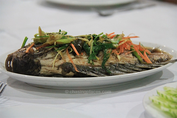 Delicious Fish Served With Dinner Chasing Places Travel