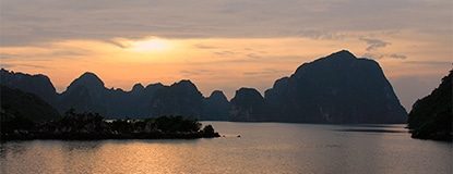 (Feature) Halong-Bay-Sunset,-Chasing-Places