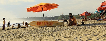 Feature Travel Guide Chasing Places: Kuta