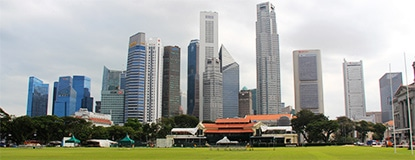 Chasing Places (Feature) Across the Padang, Singapore