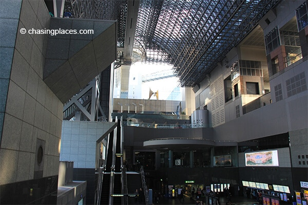 A look at the Kyoto Station
