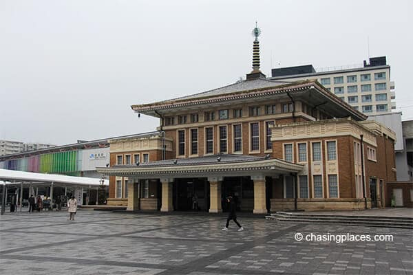 A look at the Nara JR Station
