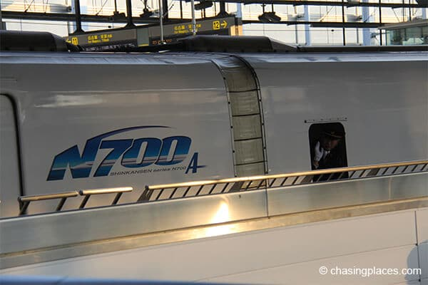 "Closer look at the how the ""Bullet Train"" looks like"
