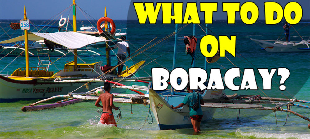 What to Do on Boracay Island: Island Hopping