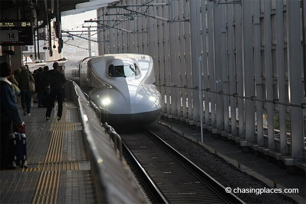 A look at the bullet train called shinkansen