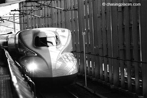 Strongly consider getting a bullet train for your journey from Tokyo to Kanazawa