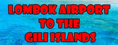 feature photo - Lombok airport to the gili islands