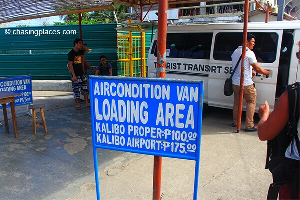 During our recent trip, the shuttle bus price from caticlan to kalibo airport was 175-peso