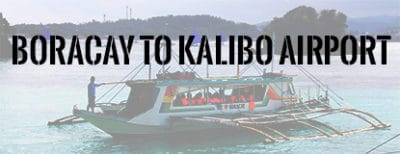 Feature: Boracay to Kalibo Airport