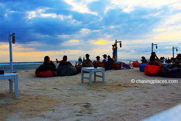 Relaxing on Gili Trawangan Beach is not a problem!