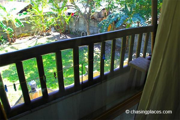 Our balcony Hannah Hotel Boracay Island