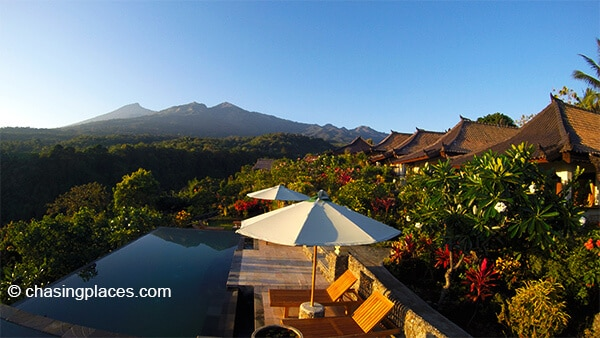 Sunset at Rinjani Lodge... simply breathtaking...