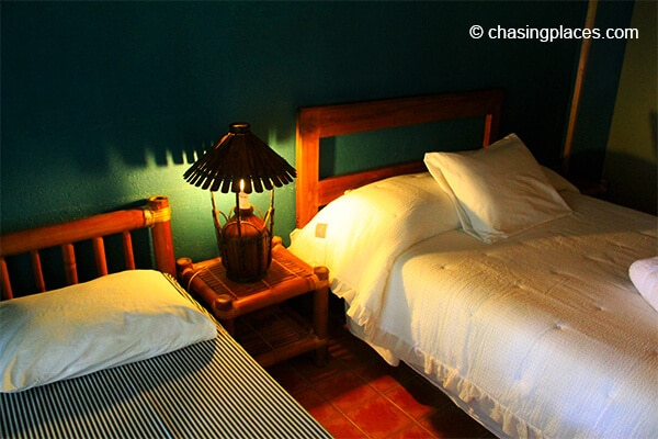 The beds at Hannah Hotel Boracay Philippines
