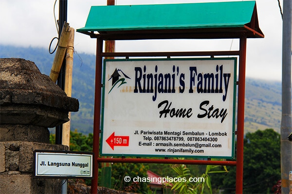 This where we stayed the night in Sembalun