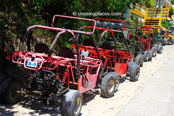 Explore Boracay Island's green interior on an ATV