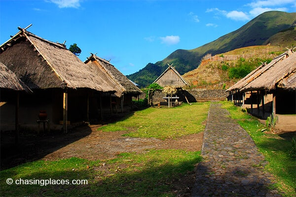 The traditional village in Sembalun