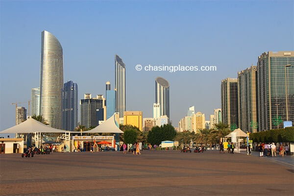 A glimpse of Abu Dhabi