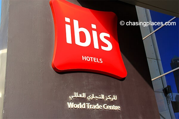 Ibis is a popular worldwide hotel chain.