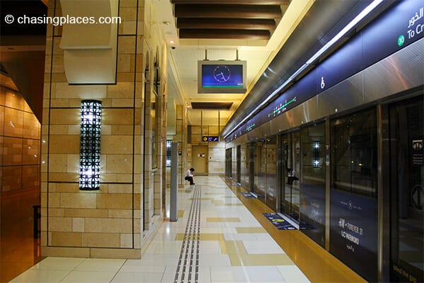 A look inside the Al Ghubaiba Metro Stration