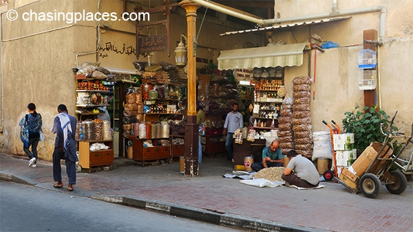 The spice souq in Dubai.