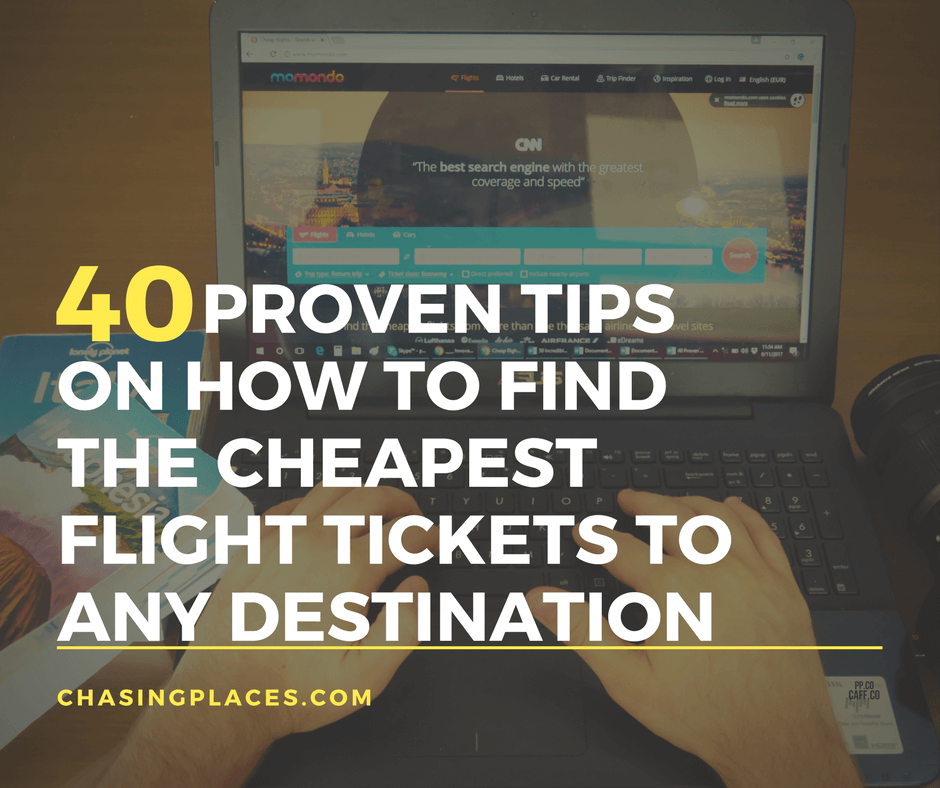 40 proven tips on how to find the cheapest flight tickets for How to find cheapest flight